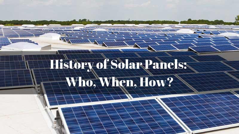 History-of-Solar-Panels