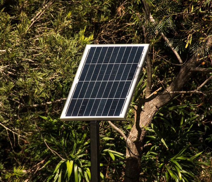 A Single Solar Panel