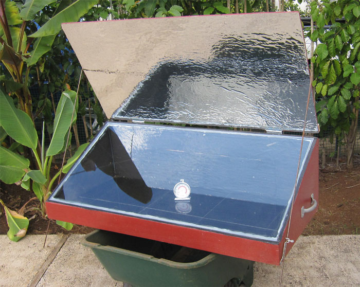 A Solar Oven with Reflector