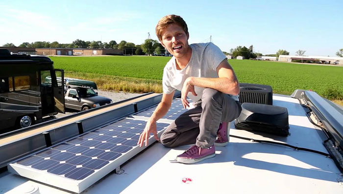 A Solar Panel For RV