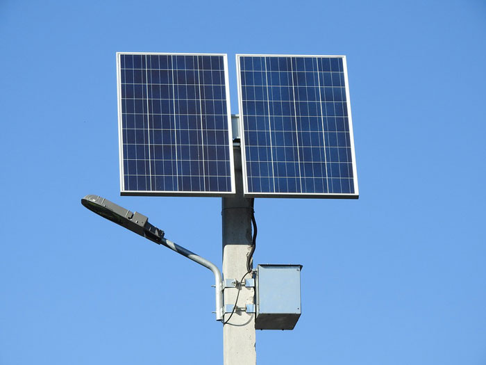 Clean Solar Lights