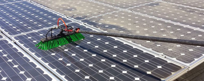 Dust and Dirt Cleaning Solar