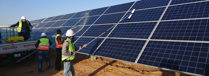 Easy Cleaning Solar Panels