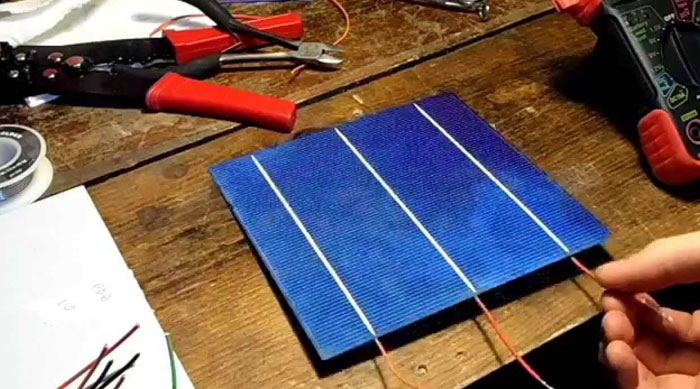 Wire Connect Solar Panel